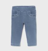 Mayoral 514 41 Basic Cord Knit Trouser, Indigo