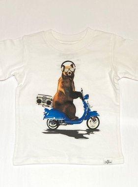 Kid Dangerous Grizzly Cruising-White