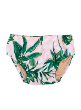 Shade Critters Diaper Cover -Pink Palm