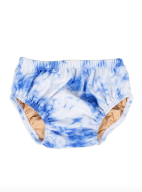 Shade Critters Diaper Cover-Navy Tie Dye