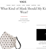 Face Mask PKP Kids Face Mask  - Confetti Heart Peony Pink