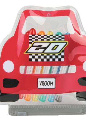 Iscream Race Car Mini Gel Pen Set 710-107