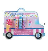 Iscream Ice Cream Truck Lip Balm and Gloss Set 815-057