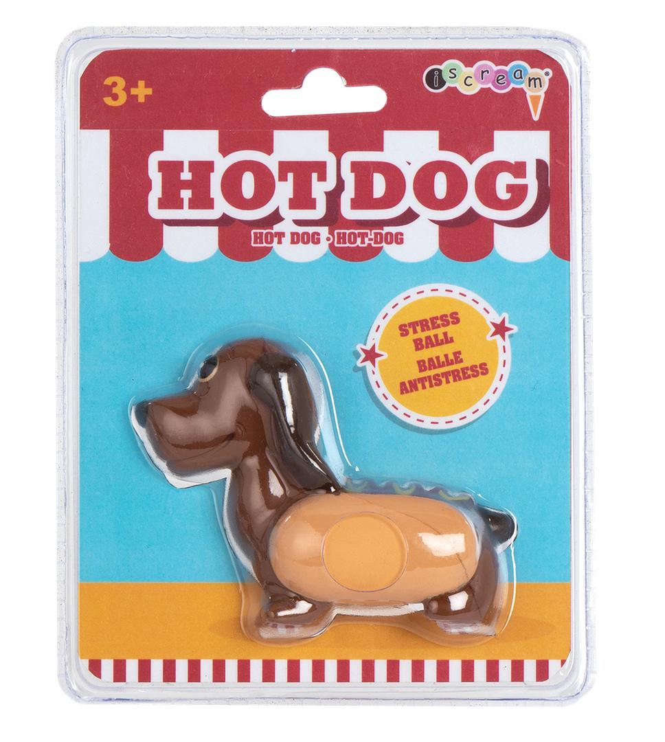 Iscream Hot Dog Stress Reliever 770-207