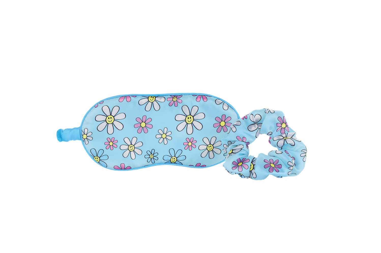 Iscream Daisies Eye Mask and Scrunchie Set 880-283