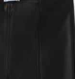 Mayoral 7722 27 Leatherette Leggigns, Black
