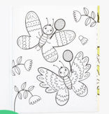 Ooly 118-246 Color in Book Busy Bug Buddies