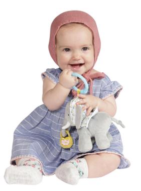 Manhattan Toy Fairytale Elephant Take Along Toy