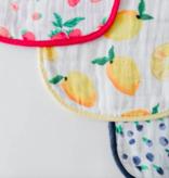 Little Unicorn Cotton Muslin Classic Bib 3pk - Berry Lemonade Set