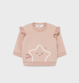 Mayoral 2401 68 Sweatshirt Star Makeup