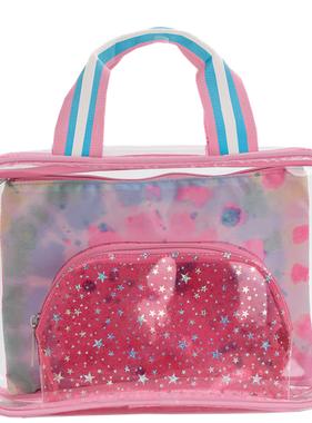 Iscream Swirl Tie Dye Cosmetic Bag Trio 810-1407