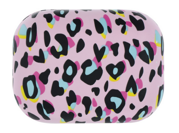 Iscream PINK LEOPARD COMPACT EAR BUDS
