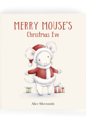 Jellycat Merry Mouse's Christmas Eve Book BK4MER