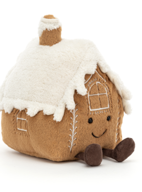 Jellycat PRE ORDER Amuseable Gingerbread House A2GH