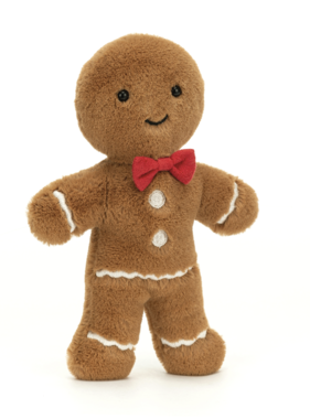 Jellycat PRE ORDER Jolly Gingerbread Fred JGB3F