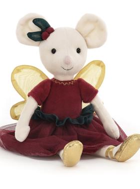 Jellycat PRE ORDER Sugar Plum Fairy Mouse SP6FM