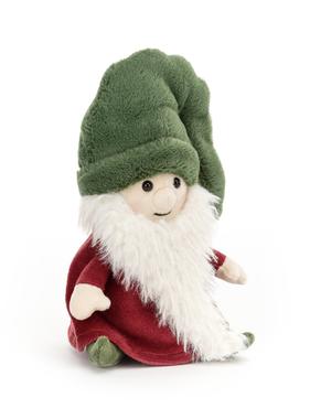 Jellycat Nisse Gnome Noel (Green Hat) NG3N