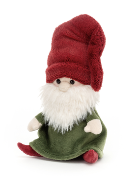 Jellycat Nisse Gnome Rudy (Red Hat) NG3R