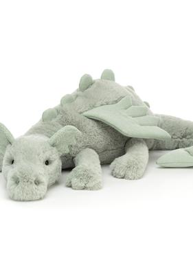 Jellycat PRE ORDER Sage Dragon Huge  SAGE1DD
