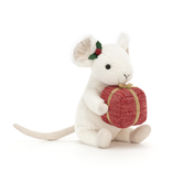 Jellycat Merry Mouse Present MER3P
