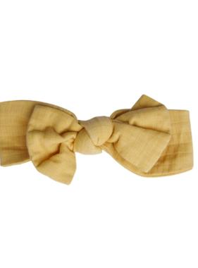 Angel Dear Solid Honey Basics Headband Honey