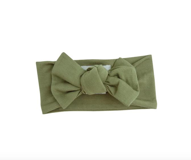 Angel Dear Solid Basics Headband Green