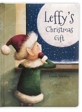 Jellycat PRE ORDER Leffy's Christmas Gift Book BK4LEFUS