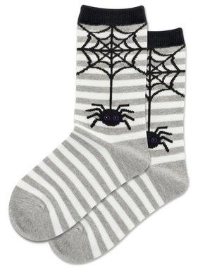 Hot Sox Sox SPIDER STRIPE Socks  GRYH