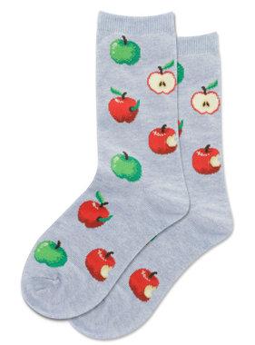 Hot Sox Sox Apples Socks - Chambray