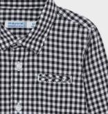 Mayoral 2145 58 L/S Poplin Check Shirt