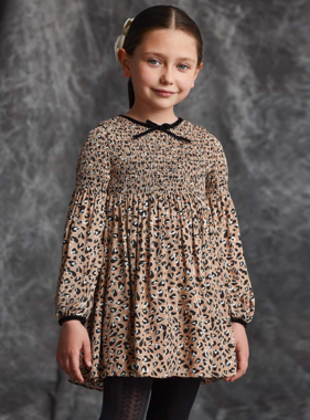 Abel & Lula 5517 2 Animal print dress