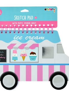 Iscream Ice Cream Truck Giant Sketch Pad