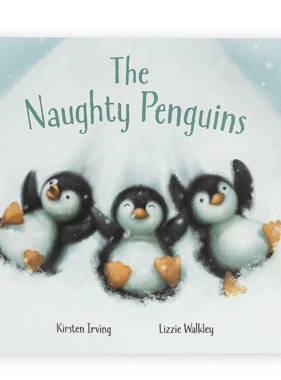 Jellycat The Naughty Penguins Book BK4NP