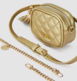 Abel & Lula 5920 77 Quilted Belt Bag, Champagne