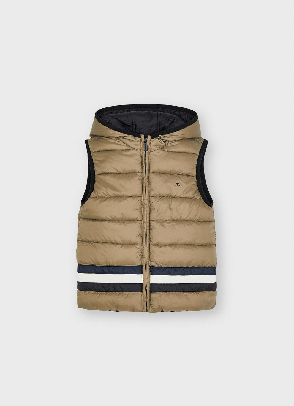 Mayoral 4365 48 Reversible Vest, Mole