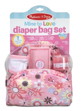 Melissa & Doug Diaper Bag Set 4889