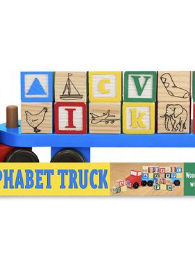 Melissa & Doug 5175 Alphabet Truck