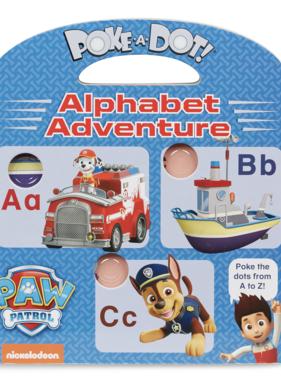Melissa & Doug Paw Patrol Poke-A-Dot Alphabet Adventure 33263