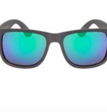 Hang Ten Grey Polycarbonate UV400 Mirrored Sunglasses HTK21AWC