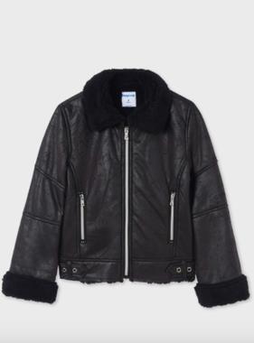 Mayoral 7439 11 Coat, Black