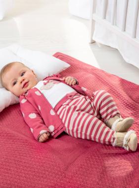 Mayoral 9006 10 Baby Blanket Cranberry