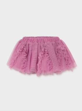 Mayoral 2902 47 Tulle Skirt Mauve