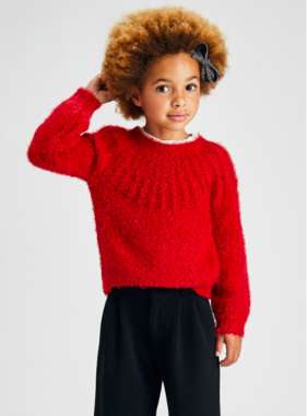 Mayoral 4372 33 Sweater Red