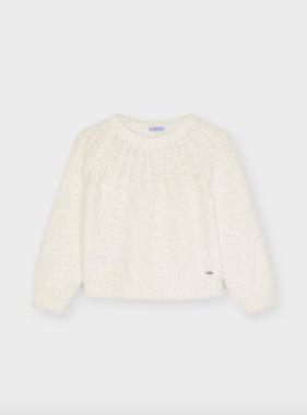 Mayoral 4372 32 Sweater, Natural