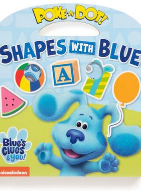 Melissa & Doug Blues Clues Poke A Clue book