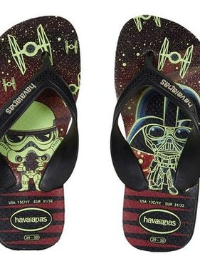 Havaianas Kids 4137117 Kids Max Star Wars sandals Blk/Blk