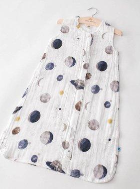 Little Unicorn Cotton Muslin Sleep Bag - Planetary