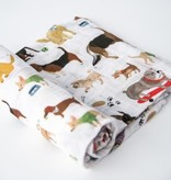 Little Unicorn Cotton Muslin Single Swaddle -Woof