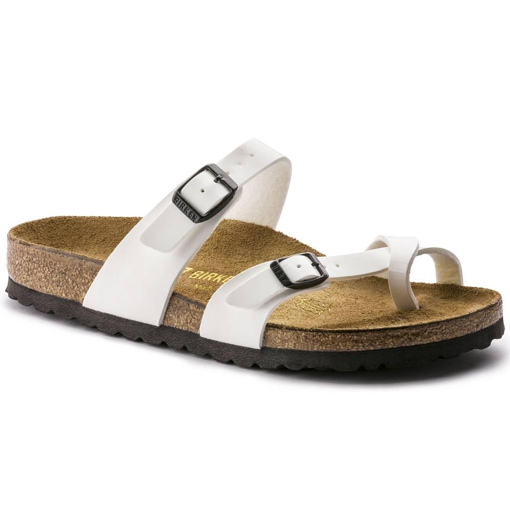 224721c696b84 Birkenstock Mayari White Patent BF 71221 - Kumpfy Shoes & Repair