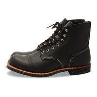 Red Wing Iron Ranger Black